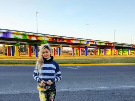 "San Vicente   Pintaron mural de 120 metros de extensión en homenaje a ""héroes"" de la pandemia"