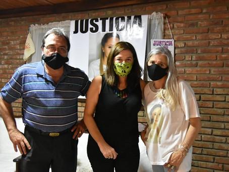 Rojas | La Ministra Estela Díaz se reunió con la familia de Úrsula Bahillo
