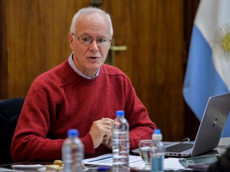 """Gollan ratificó que """"hay una tendencia a la baja"""" en los contagios de coronavirus"""