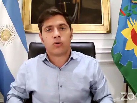 Kicillof pide a la Legislatura bonaerense autorización para comprar vacunas contra el Covid-19