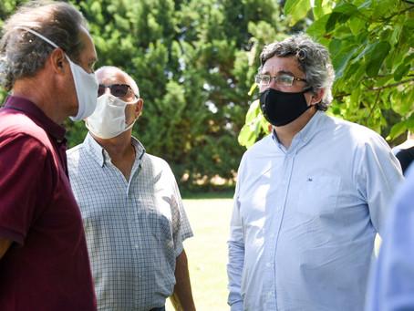 Roque Pérez | El Ministro Rodriguez destacó las líneas de crédito para el sector agropecuario