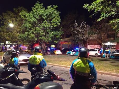 La Plata | Realizan controles de tránsito en la zona roja y secuestran 5 vehículos
