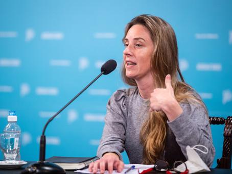 """Agustina Vila: """"Es indispensable que haya vacaciones, fue un año muy intenso"""""""