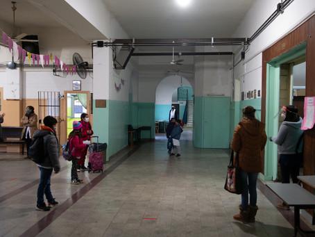 44 municipios bonaerenses continúan sin clases presenciales por la situación epidemiológica