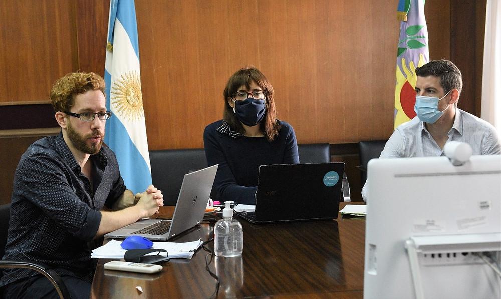 Ministra de Trabajo, Mara Ruiz Malec.