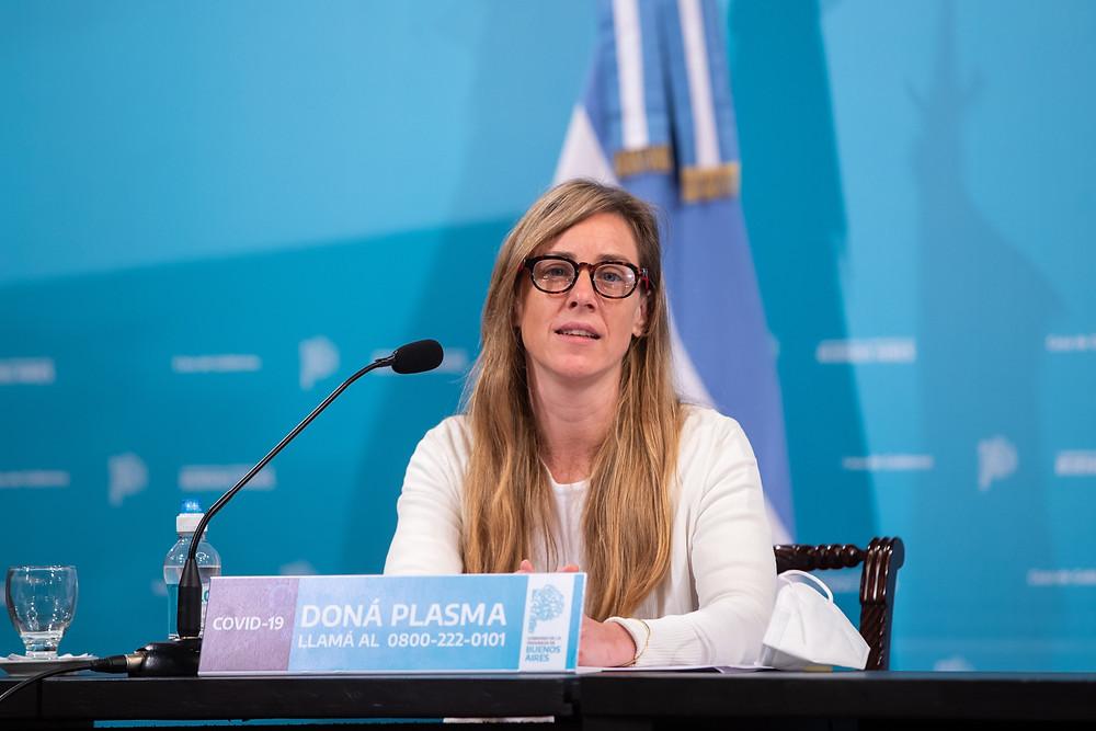 Agustina Vila, Directora General de Cultura y Educación.