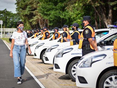 Quilmes | Mendoza entregó 10 nuevos patrulleros a la policía bonaerense