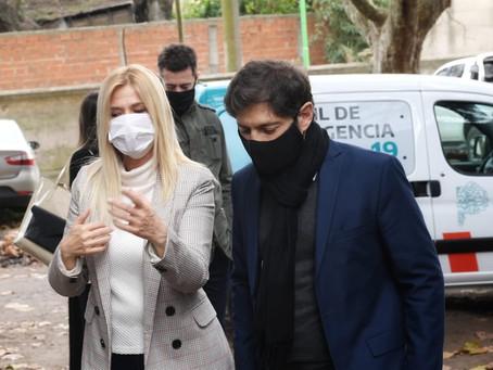 La Matanza | Kicillof entrega netbooks recuperadas, no entregadas en las gestiones de Macri y Vidal