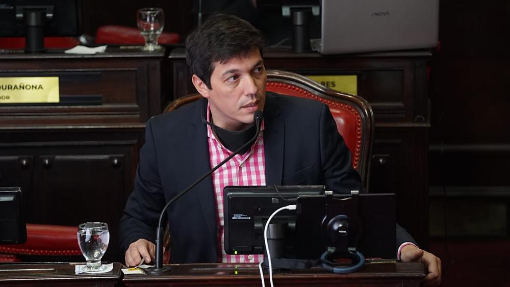 Senador de la Provincia de Buenos Aires, Gervasio Bozzano.