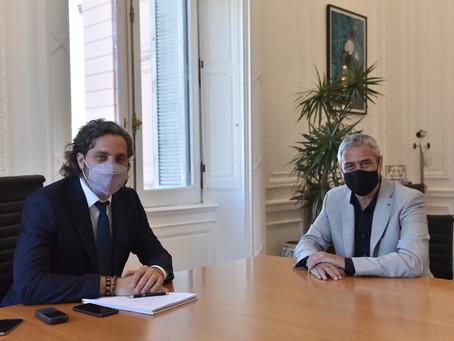 Desarrollo Territorial | Oficializan designación de Ferraresi y renuncia de Bielsa