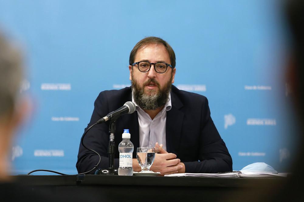 Subsecretario de Energía bonaerense, Gastón Ghioni.