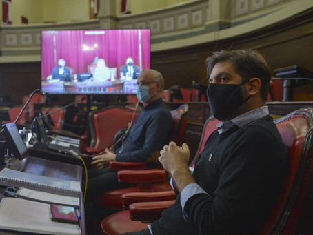 Bianco y Gollan expondrán ante la Legislatura bonaerense