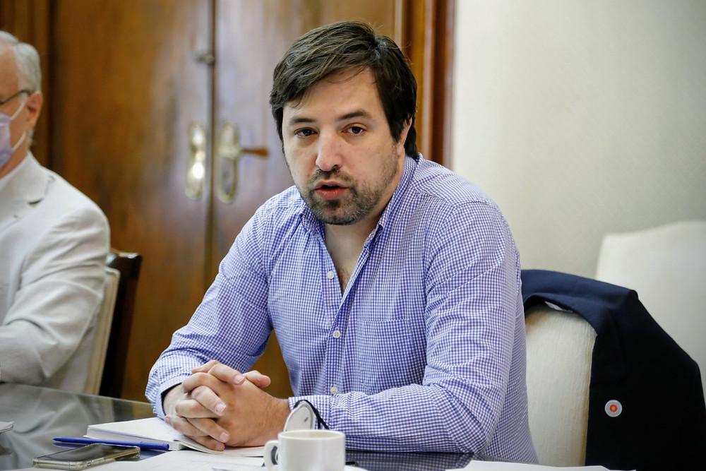 Viceministro de salud, Nicolás Kreplak.
