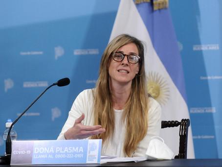 Agustina Vila afirmó que habrá protocolos y capacitación para el retorno a la presencialidad