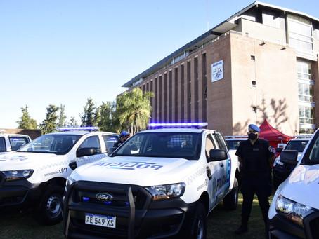 Malvinas Argentinas   Berni destacó la rigurosidad del curso para sumarse a la policía bonaerense