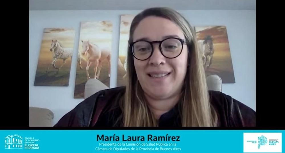 Diputada María Laura Ramirez.