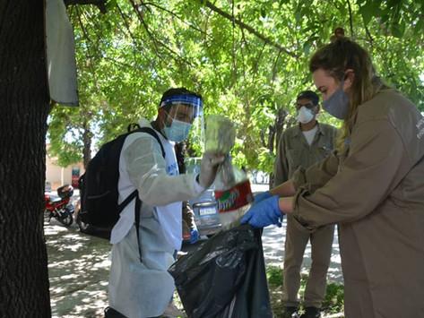 Quilmes | Despliegan operativo territorial de prevención del dengue