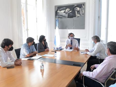 Reunión en Casa Rosada para definir acciones de prevención y mitigación de la segunda ola de covid
