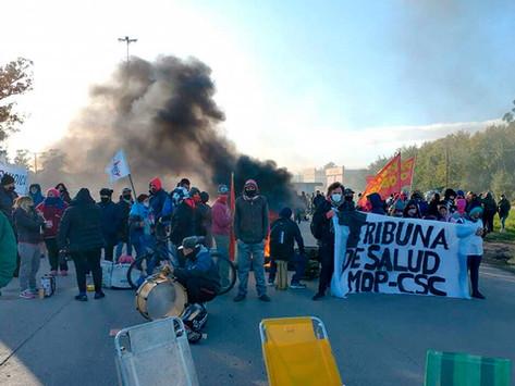 Mar del Plata   Trabajadores de la salud autoconvocados cortaron ruta 88 por reclamo salarial