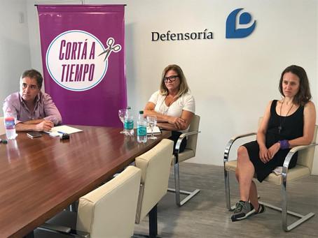 El Defensor del Pueblo y Actrices Argentinas firmaron convenio para prevenir la violencia de género