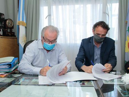 Roque Pérez recibirá 80 millones de pesos para obras de agua corriente, cloacas y saneamiento