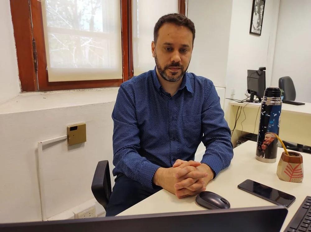 Enio García, Jefe de asesores del Ministerio de Salud de la provincia de Buenos Aires.