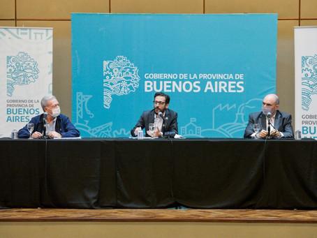 El Gobierno bonaerense anunció obras viales en 38 municipios de la provincia
