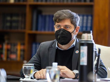 """Kicillof negó haber pedido el desplazamiento de Guzmán y dijo que quieren """"deteriorar al Gobierno"""""""