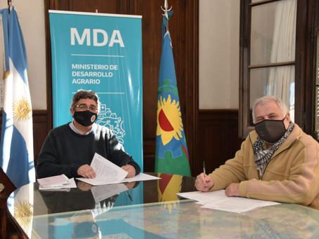 El Gobierno y el CIAFBA acordaron profundizar buenas prácticas agrícolas y la producción sustentable