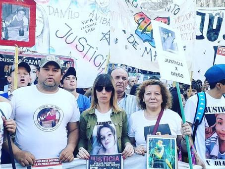 """A 8 meses de la """"Masacre de Monte"""", vecinos marchan exigiendo """"Verdad y Justicia"""""""
