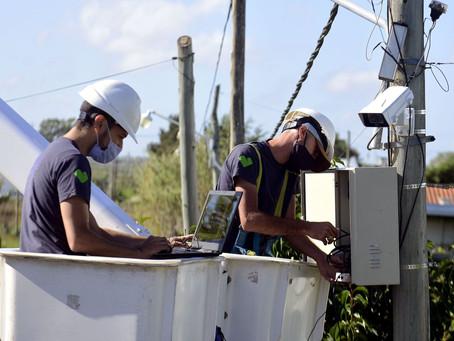 La Plata | Avanza la instalación de cámaras y luces led para mejorar la seguridad