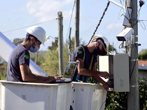 La Plata   Avanza la instalación de cámaras y luces led para mejorar la seguridad