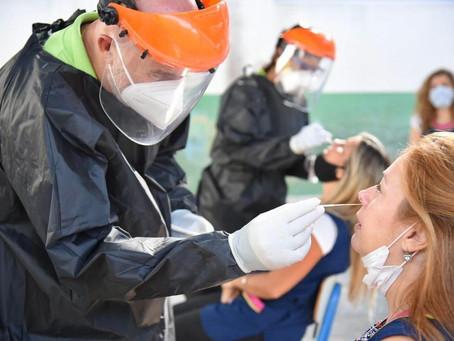 La Plata | Comenzaron los testeos a docentes y auxiliares de 38 escuelas