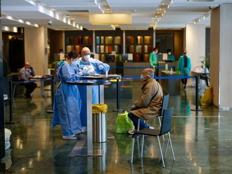 Los contactos de un caso positivo de coronavirus no podrán permanecer en hoteles y alojamientos