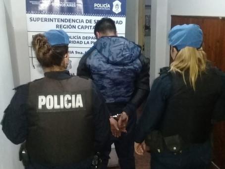 La Plata | Lo detienen mientras huía luego de atropellar a una oficial en un control vehicular