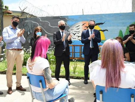San Martín | Con la presencia de Ministros, celebran matrimonio igualitario en una cárcel bonaerense