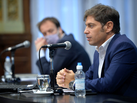Con fuertes críticas a la gestión de Vidal, Kicillof anunció aumento del 7% en la tarifa eléctrica