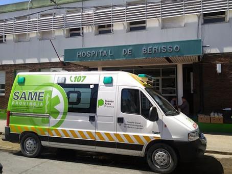 Berisso | El hospital registró una ocupación de camas del 90 % y tuvieron que derivar pacientes