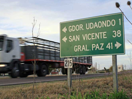 """Ruta 215: """"Entre marzo y mayo de 2021"""" se licitaría el tramo Udaondo-Monte"""