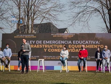 Ficha limpia, penas más duras y policías en las calles, las propuestas de Diego Santilli