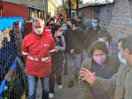 Tigre | Con dos nuevos casos, suman 117 los contagiados de coronavirus en el barrio San Jorge