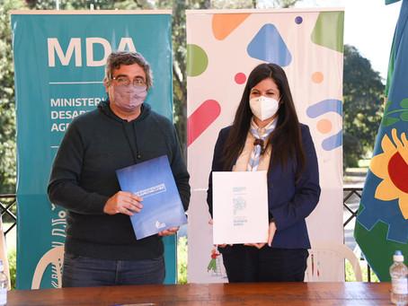 Buenos Aires firmó un convenio con Scouts Argentina para trabajar en el cuidado del medioambiente