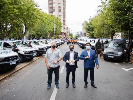 La Matanza   Kicillof y Berni reforzaron la seguridad en el municipio conducido por Espinoza