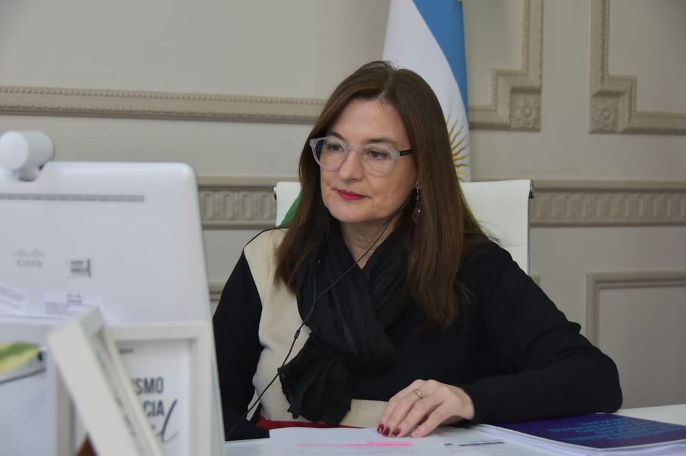 Estela Díaz, Ministra de Mujeres, Políticas de Género y Diversidad Sexual bonaerense.