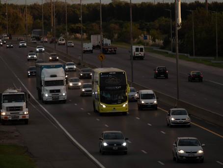 El flujo vehicular por la Autovía 2 hacia la costa atlántica es de 2.100 automóviles por hora