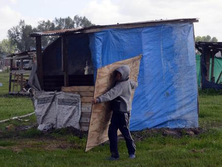 Guernica | Tras el desalojo, el Gobierno localiza lotes con servicios para reubicar a las familias