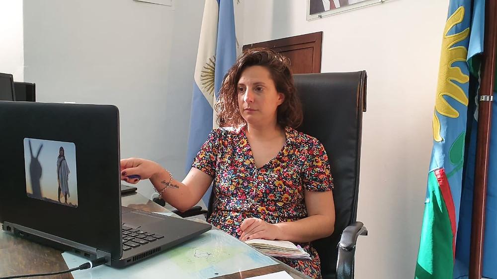 Leticia Ceriani, Subsecretaria de Gestión de la información, Educación Permanente y Fiscalización del Ministerio de Salud.