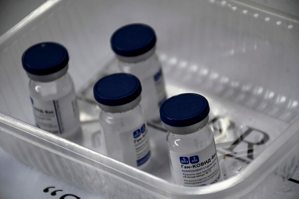 Dosis de la vacuna Sputnik V.