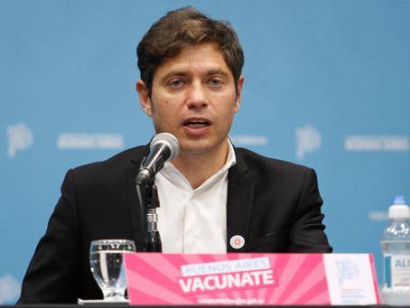 Miramar | Kicillof brindará una conferencia de prensa para referirse a la situación epidemiológica