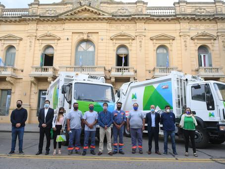 Mercedes | La comuna adquirió cuatro camiones compactadores de residuos